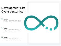 Development Life Cycle Vector Icon Ppt PowerPoint Presentation Icon Design Ideas