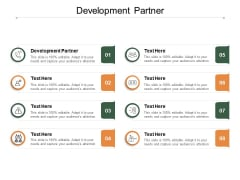 Development Partner Ppt PowerPoint Presentation Portfolio Inspiration Cpb