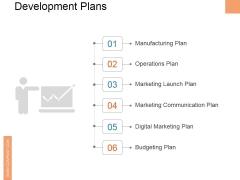 Development Plans Ppt PowerPoint Presentation Layouts Files