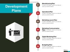 Development Plans Ppt PowerPoint Presentation Outline Microsoft
