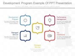 Development Program Example Of Ppt Presentation