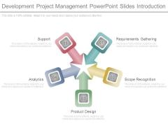 Development Project Management Powerpoint Slides Introduction