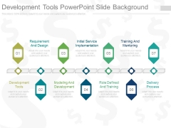 Development Tools Powerpoint Slide Background