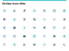 Devops Icons Slide Vision Ppt PowerPoint Presentation Slides Show