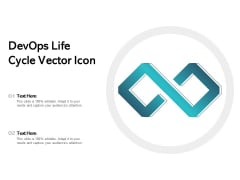 Devops Life Cycle Vector Icon Ppt PowerPoint Presentation Outline Skills