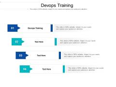Devops Training Ppt PowerPoint Presentation Ideas Smartart Cpb Pdf