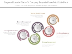 Diagram Financial Status Of Company Template Powerpoint Slide Deck