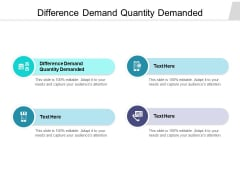 Difference Demand Quantity Demanded Ppt PowerPoint Presentation Model Examples Cpb Pdf