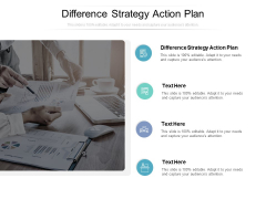 Difference Strategy Action Plan Ppt PowerPoint Presentation Background Cpb