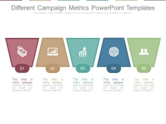 Different Campaign Metrics Powerpoint Templates