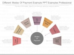 Different Modes Of Payment Example Ppt Examples Professional