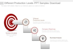 Different Production Levels Ppt Samples Download