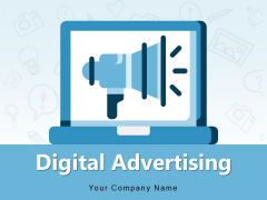 Digital Advertising Content Marketing Strategy Implement Research Ppt PowerPoint Presentation Complete Deck
