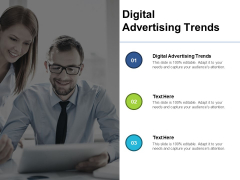 Digital Advertising Trends Ppt PowerPoint Presentation Icon Background Cpb Pdf