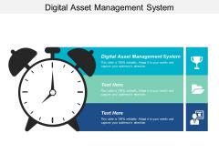 Digital Asset Management System Ppt PowerPoint Presentation Gallery Information Cpb