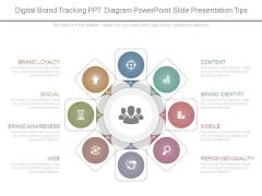 Digital Brand Tracking Ppt Diagram Powerpoint Slide Presentation Tips