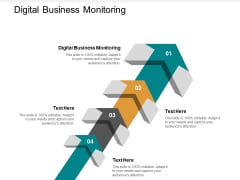 Digital Business Monitoring Ppt PowerPoint Presentation Model Slide Portrait Cpb