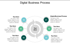 Digital Business Process Ppt Powerpoint Presentation Icon Picture Cpb