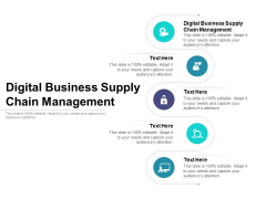 Digital Business Supply Chain Management Ppt PowerPoint Presentation Icon Grid Cpb Pdf