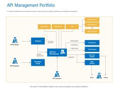 Digital Businesses Ecosystems API Management Portfolio Demonstration PDF
