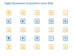 Digital Businesses Ecosystems Icons Slide Ppt Infographics Pictures PDF