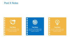 Digital Businesses Ecosystems Post It Notes Ppt Pictures Influencers PDF