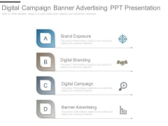 Digital Campaign Banner Advertising Ppt Presentation