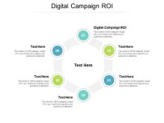 Digital Campaign ROI Ppt PowerPoint Presentation Icon Shapes Cpb