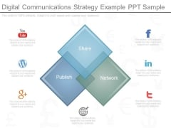 Digital Communications Strategy Example Ppt Sample