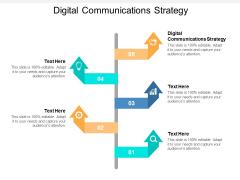 Digital Communications Strategy Ppt PowerPoint Presentation Layouts Portrait Cpb