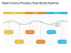 Digital Currency Procedure Three Months Roadmap Portrait