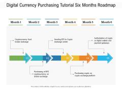 Digital Currency Purchasing Tutorial Six Months Roadmap Topics