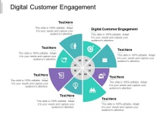 Digital Customer Engagement Ppt PowerPoint Presentation Show Templates Cpb