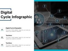 Digital Cycle Infographic Ppt PowerPoint Presentation Icon Introduction Cpb