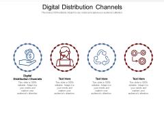 Digital Distribution Channels Ppt PowerPoint Presentation Show Picture Cpb Pdf