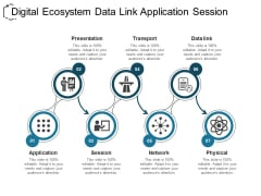 Digital Ecosystem Data Link Application Session Ppt PowerPoint Presentation Ideas Rules