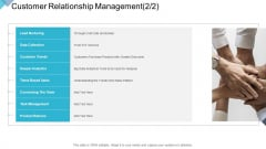 Digital Enterprise Management Customer Relationship Management Data Ppt PowerPoint Presentation Model Format Ideas PDF