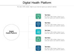 Digital Health Platform Ppt PowerPoint Presentation Icon Format Cpb