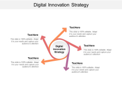 Digital Innovation Strategy Ppt PowerPoint Presentation Layouts Examples Cpb