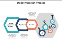 Digital Interaction Process Ppt PowerPoint Presentation Styles Microsoft Cpb