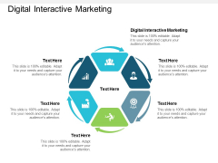 Digital Interactive Marketing Ppt PowerPoint Presentation File Pictures Cpb