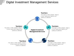 Digital Investment Management Services Ppt PowerPoint Presentation Infographic Template Picture Cpb