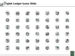Digital Ledger Icons Slide Ppt PowerPoint Presentation Model Background