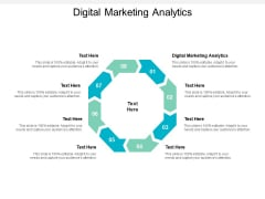 Digital Marketing Analytics Ppt PowerPoint Presentation Professional Guide Cpb