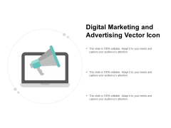 Digital Marketing And Advertising Vector Icon Ppt PowerPoint Presentation Infographics Slides