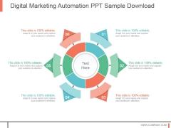 Digital Marketing Automation Ppt Sample Download