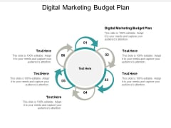 Digital Marketing Budget Plan Ppt PowerPoint Presentation Infographics Deck Cpb
