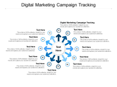 Digital Marketing Campaign Tracking Ppt PowerPoint Presentation Pictures Mockup Cpb