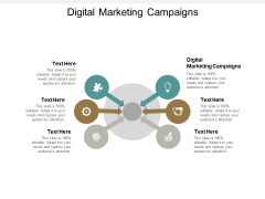 Digital Marketing Campaigns Ppt PowerPoint Presentation Outline Shapes Cpb
