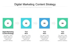 Digital Marketing Content Strategy Ppt PowerPoint Presentation Pictures Clipart Images Cpb